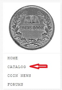 coins catalog first step