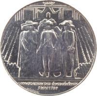 obverse of 1 Franc - Estates General (1989) coin with KM# 967 from France. Inscription: CONVOCATION DES ÉTATS GÉNÉRAUX 5 MAI 1789 BÉRÉCHEL