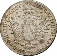obverse of 24 Kreuzer - Franz II (1800) coin with KM# 2148 from Austria.