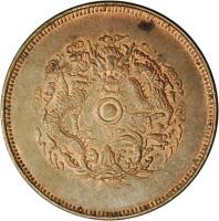reverse of 20 Cash - Guangxu (1903 - 1904) coin with Y# 50 from China.