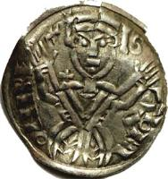 obverse of 1 Denar - Salamon (1063 - 1074) coin with EH# 9 from Hungary.