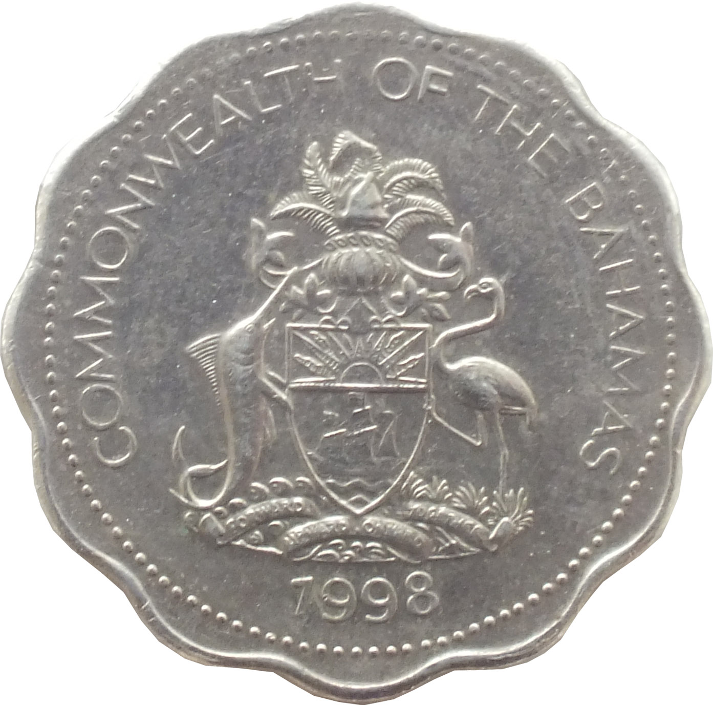 10 Cents Elizabeth Ii 1974 2005 Bahamas Km 61 Coinsbook