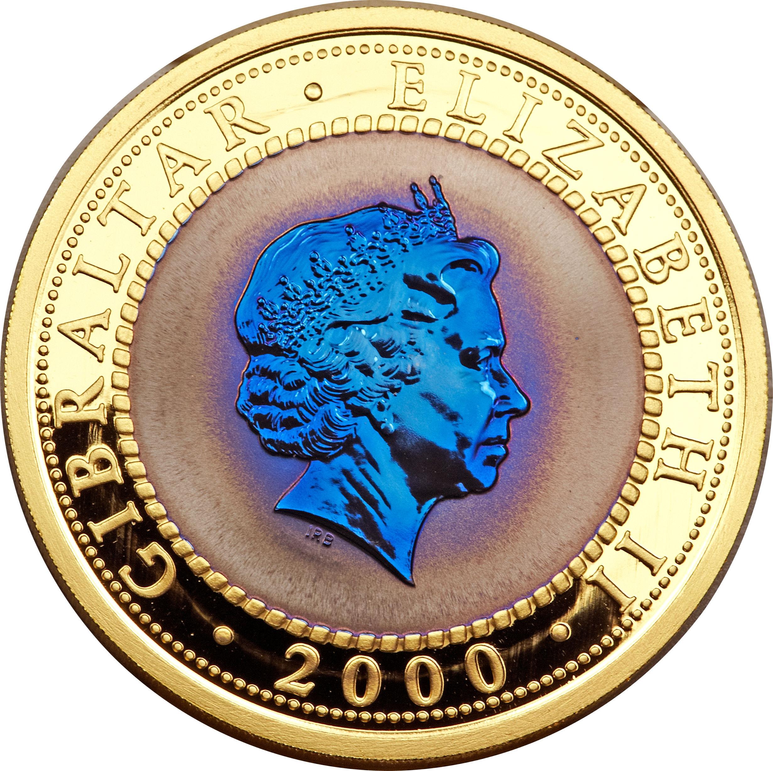 1 Crown - Elizabeth II - Uniform Penny Post - 4'th Portrait