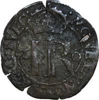 reverse of 2 Öre - Johan III (1591 - 1592) coin with SM# 68 from Sweden. Inscription: MONETA NOVA REG SVEC 2 IR Ö