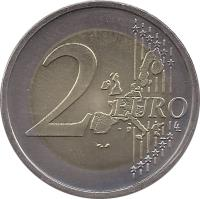 reverse of 2 Euro - Federal States: Schleswig-Holstein (2006) coin with KM# 253 from Germany. Inscription: 2 EURO LL
