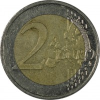reverse of 2 Euro - Federal States: Saarland (2009) coin with KM# 276 from Germany. Inscription: 2 EURO LL