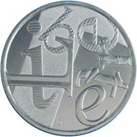 obverse of 5 Euro - Liberté (2013) coin with KM# 1758 from France. Inscription: LIBERTÉ