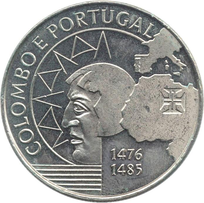 200 ESCUDOS-PORTUGAL-KM#658-1991-COLUMBUS AND PORTUGAL