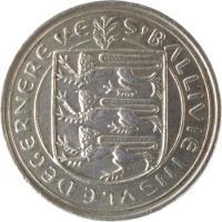 obverse of 10 Pence - Elizabeth II (1977 - 1984) coin with KM# 30 from Guernsey. Inscription: S'BALLIVIE INSVLE DE GERNERE VE