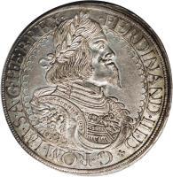 obverse of 1 Speciestaler - Ferdinand III - Saint Veit mint (1645 - 1657) coin with KM# 924 from Austria.