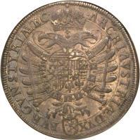reverse of 1 Speciestaler - Ferdinand II - Klagenfurt mint (1621) coin with KM# 340 from Austria.