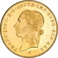obverse of 1 Ducat - Franz Joseph I - Golden Jubilee (1898) coin with KM# 2268 from Austria.