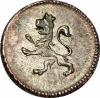 obverse of 1/4 Real - Carlos IV (1796 - 1809) coin with KM# 82 from Bolivia.