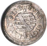 reverse of 80 Réis - Pedro II (1695 - 1697) coin with KM# 78 from Brazil.