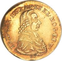 obverse of 1 Ducat - Friedrich Karl Josef - Trade Coinage (1795) coin with KM# 411 from German States.