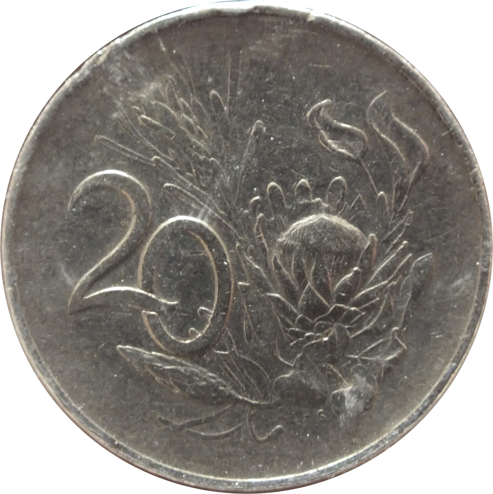 20 Cents Suid Afrika 1965 1969 South Africa Km 69 2 Coinsbook