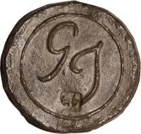obverse of 1 Cent (1805) coin with KM# 9 from Malay peninsula.