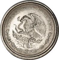 obverse of 1 Peso (1986) coin with KM# Pn235 from Mexico. Inscription: ESTADOS UNIDOS MEXICANOS