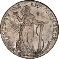 obverse of 1/2 Penny - Essex / Braintree (1794) coin with KM# 9 from United Kingdom.