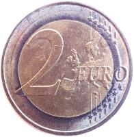 reverse of 2 Euro - Federal States: Bremen (2010) coin with KM# 285 from Germany. Inscription: 2 EURO LL
