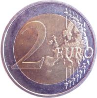 reverse of 2 Euro - Federal States: Bayern (2012) coin with KM# 305 from Germany. Inscription: 2 EURO LL
