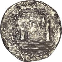 obverse of 4 Reales - Felipe IV (1659 - 1660) coin with KM# 17 from Peru.