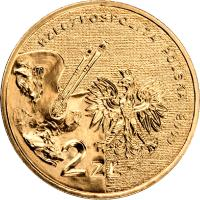 obverse of 2 Złote - Polish Painters of the Turn of 19th and 20th Centuries: Władysław Strzemiński (1893-1952) (2009) coin with Y# 705 from Poland. Inscription: RZECZPOSPOLITA POLSKA 2009 2 ZŁ