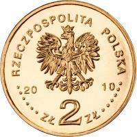 obverse of 2 Złote - Chevau-Légers of the Imperial Guard of Napoleon I (2010) coin with Y# 718 from Poland. Inscription: RZECZPOSPOLITA POLSKA 2010 ZŁ 2 ZŁ