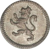 reverse of 1/4 Real - Carlos IV / Fernando VII (1796 - 1816) coin with KM# 62 from Mexico.
