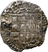 obverse of 1 Real - Felipe III (1596 - 1605) coin with KM# 7 from Bolivia.