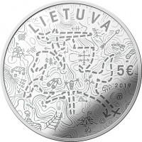 LIETUVA. 5€. 2019.