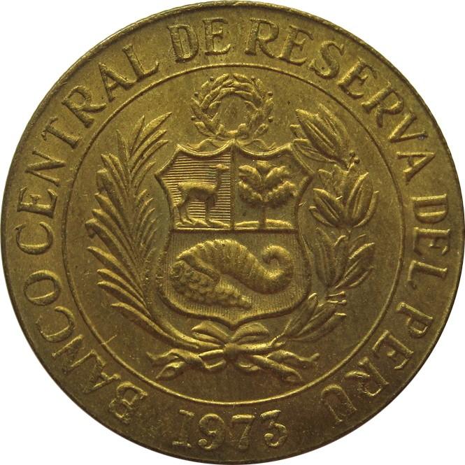 1 Sol De Oro 1966 1975 Peru Km 248 Coinsbook