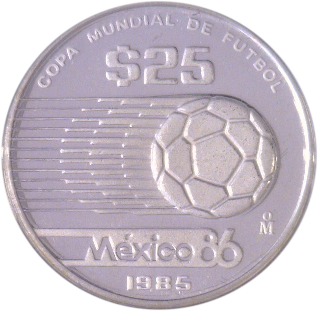 25 pesos 1986 world cup soccer games 1985 mexico km for Atlas specialty supermarket persian cuisine