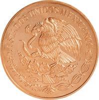 obverse of 200 Pesos - Mexican Bicentenary (2010) coin with KM# 932 from Mexico. Inscription: ESTADOS UNIDOS MEXICANOS