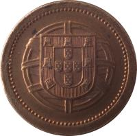 obverse of 5 Centavos (1920 - 1922) coin with KM# 569 from Portugal.