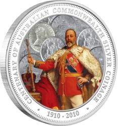 1 Dollar - Elizabeth II - 100th Anniversary of Australian