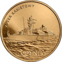 reverse of 2 Złote -