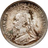 3 Pence - Victoria - Maundy Coinage