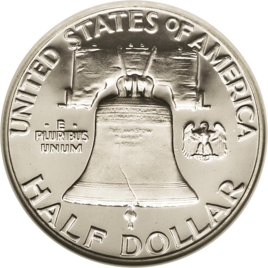 1948-63 X1 1951 FRANKLIN HALF DOLLAR EF COLLECTIBLE US COINS MONEY GIFT IDEA