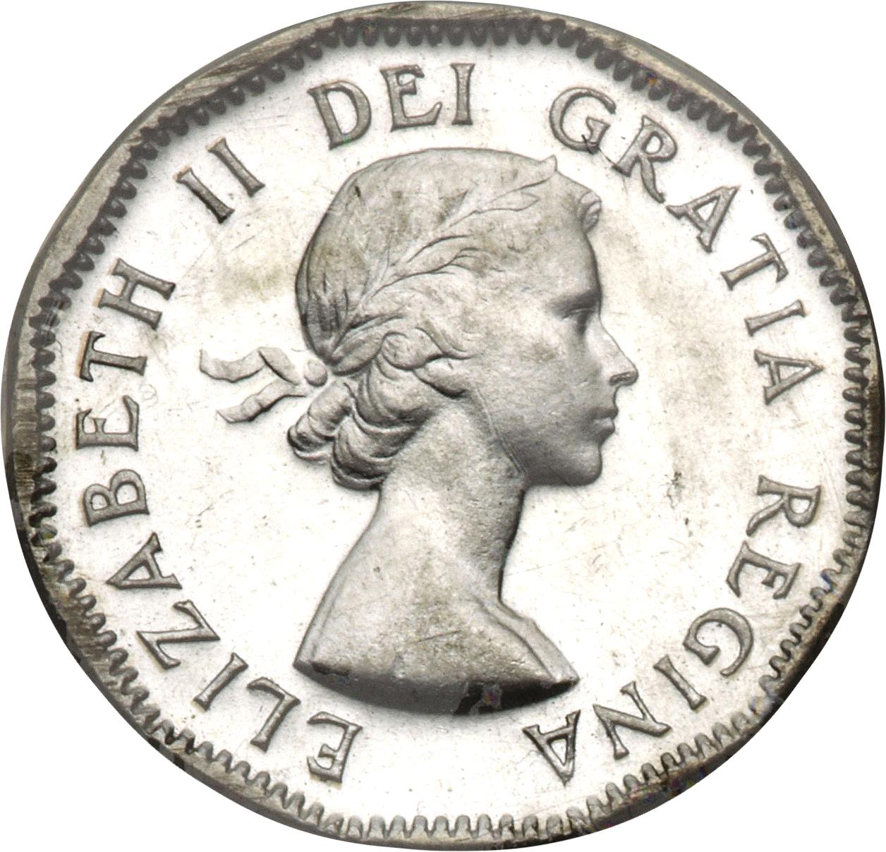 dei gratia regina elizabeth ii coin 1954