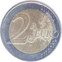 reverse of 2 Euro - 2'nd Map (2011) coin with KM# 68 from Estonia. Inscription: 2 EURO LL