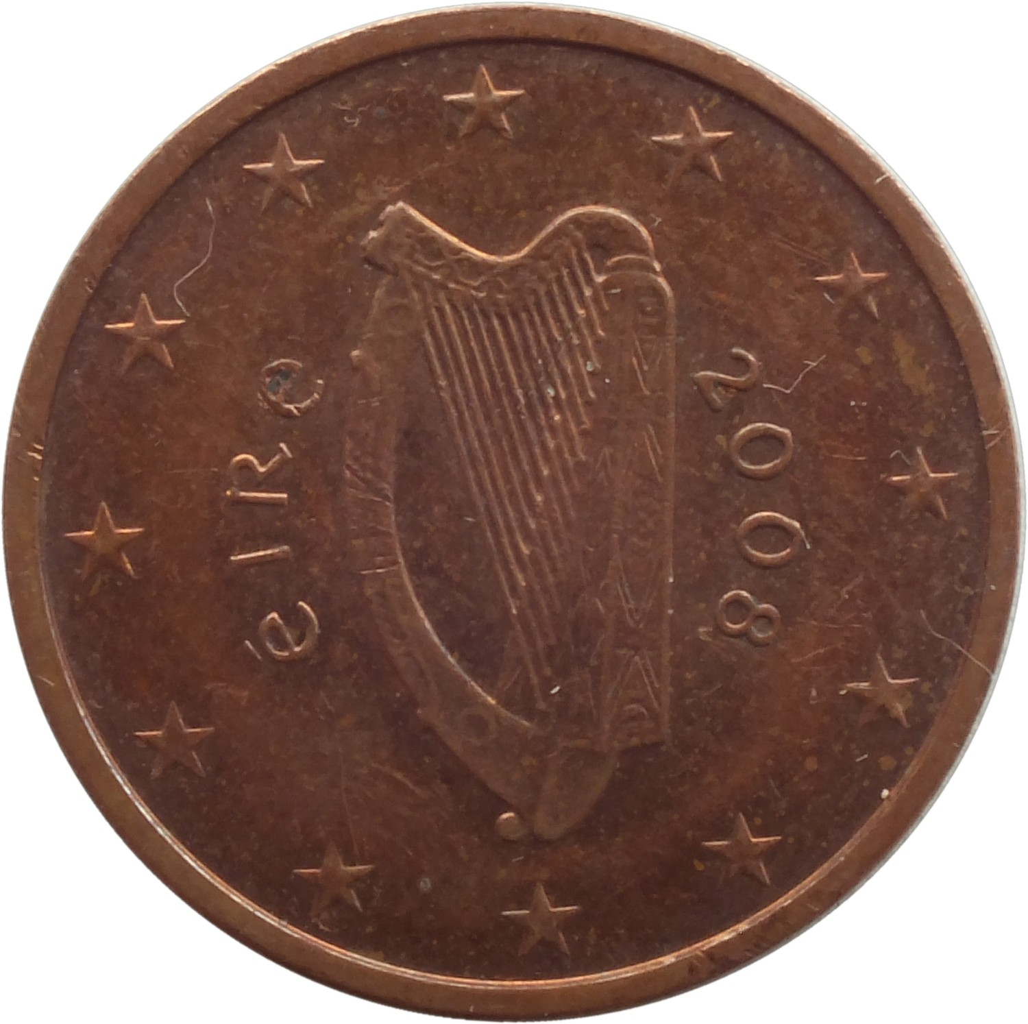 2 euro cent 2002 2015 ireland km 33 coinsbook. Black Bedroom Furniture Sets. Home Design Ideas