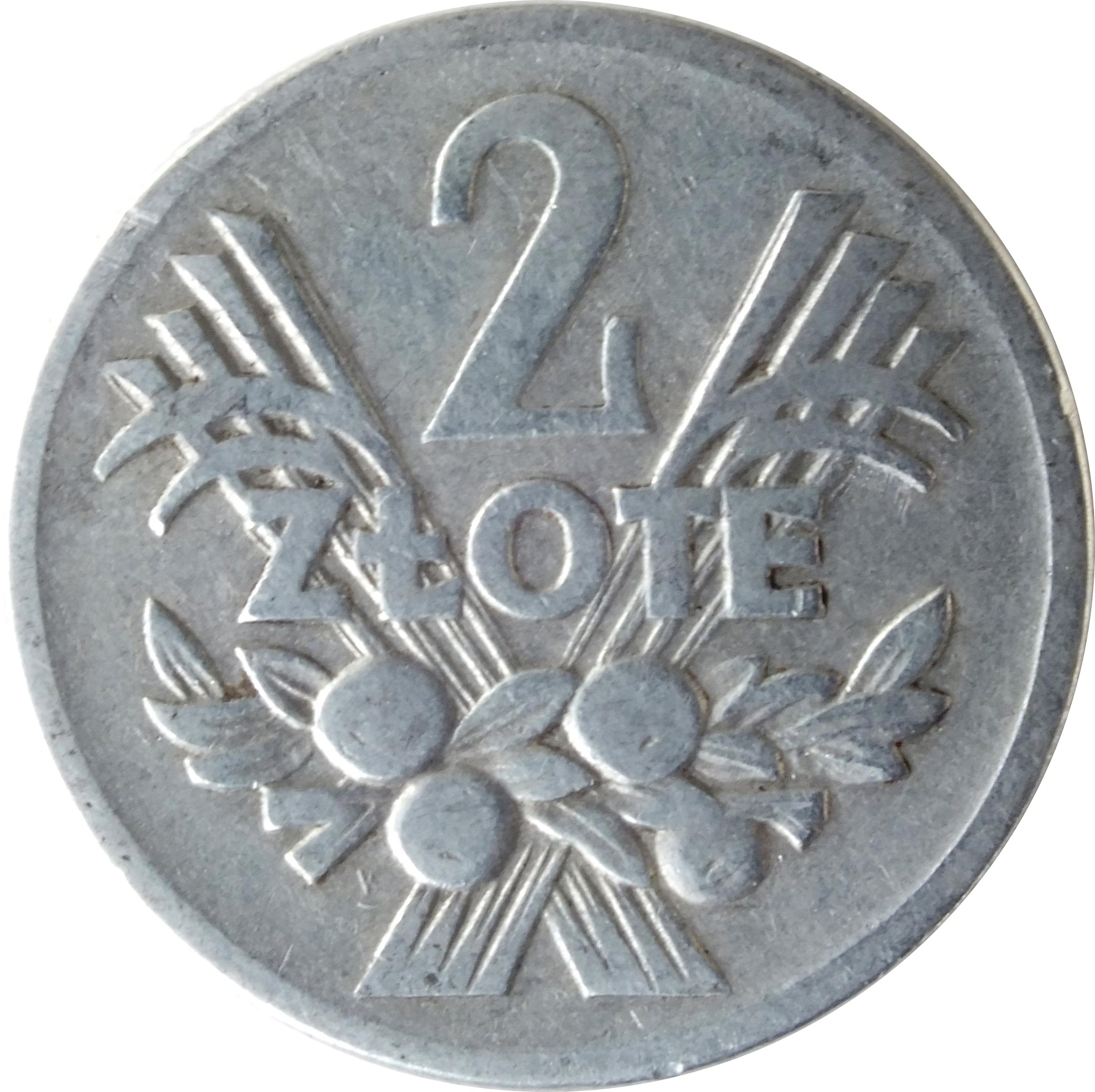 2 злотых 1974 цена 10 менге 1970 года