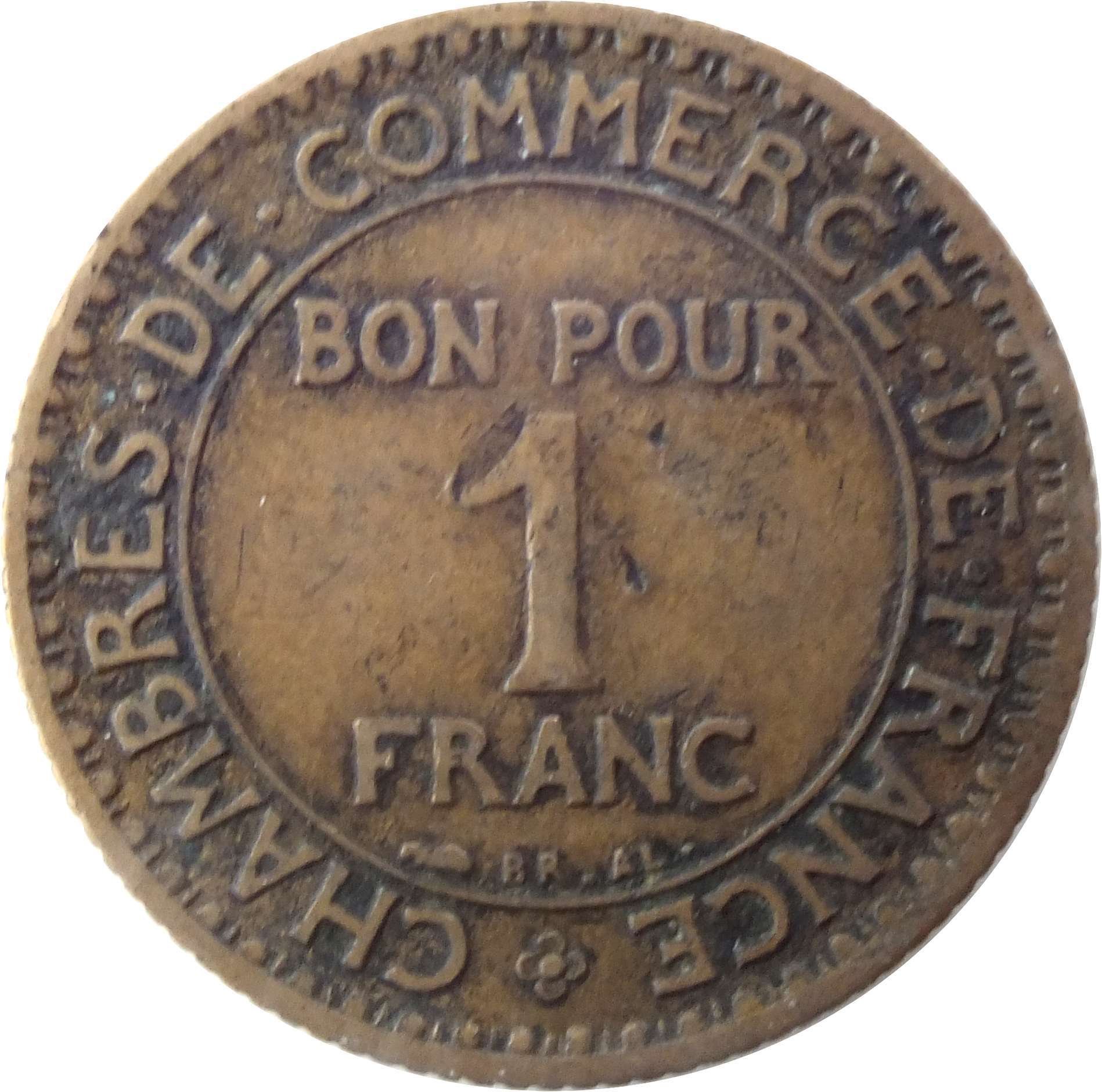 1 franc chambres de commerce 1920 1927 france km 876 - Inscription chambre de commerce ...