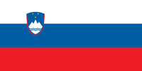 Slovenia Republic flag