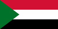 Sudan Republic flag