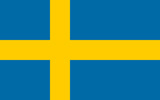 Sweden Kingdom flag
