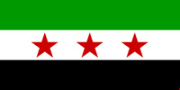 Syria Republic flag