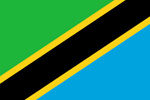 Tanzania United Republic flag