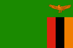 Zambia Republic flag